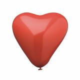 12 x  4 Luftballons Ø 19 cm rot Heart medium