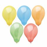 12 x  10 Luftballons Ø 19 cm farbig sortiert Rainbow