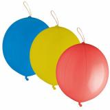15 x  3 Punch Ballons Ø 40 cm farbig sortiert