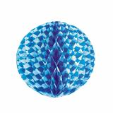 10 x  Wabenball Ø 30 cm Bayrisch Blau schwer entflammbar