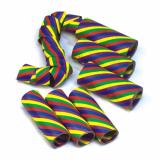 10 x  3 Luftschlangen 4 m Rainbow