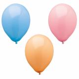 12 x  10 Luftballons Ø 25 cm farbig sortiert Pastel