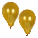 12 x  10 Luftballons Ø 25 cm gold