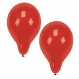 12 x  10 Luftballons Ø 25 cm rot