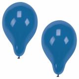 12 x  10 Luftballons Ø 25 cm blau