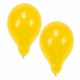 12 x  10 Luftballons Ø 25 cm gelb