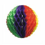 10 x  Wabenball Ø 32 cm Rainbow