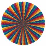 10 x  Dekofächer Ø 70 cm Rainbow