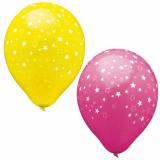 12 x  15 Luftballons Ø 29 cm farbig sortiert Stars