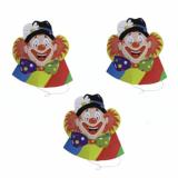 6 x  5 Hütchen Clowngesicht