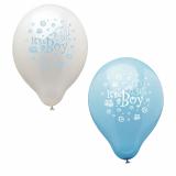 12 x  12 Luftballons Ø 25 cm It's a boy