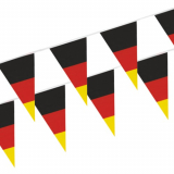 10 x  Wimpelkette, Folie 4 m Germany wetterfest