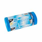20 x  25 Müllsäcke, HDPE 120 l 110 cm x 70 cm blau