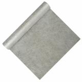 6 x  Tischläufer, stoffähnlich, Vlies soft selection 4,8 m x 40 cm silber