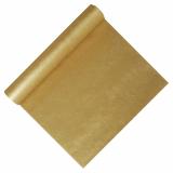 6 x  Tischläufer, stoffähnlich, Vlies soft selection 4,8 m x 40 cm gold