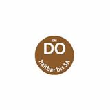 500 Day Mark Etiketten Ø 19 mm braun Dissolve Mark DO haltbar bis SA, völlig auflösbar