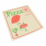 3 x  100 Pizzataschen, Pergamin 30 cm x 30 cm Cafeteria fettdicht