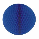 5 x  Wabenball Ø 60 cm blau schwer entflammbar