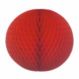 5 x  Wabenball Ø 60 cm rot schwer entflammbar
