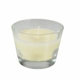 6 x  Glas mit Wachsfüllung Ø 100 mm · 80 mm elfenbein Ivory