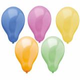 6 x  50 Luftballons Ø 25 cm farbig sortiert Trend
