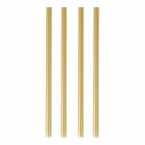 10 x  135 Shake-Halme Ø 8 mm · 25 cm gold