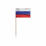 40 x  50 Deko-Picker 8 cm Russia