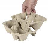 360 Tragetabletts, Pappe To Go 5 cm x 20 cm x 12 cm Click & Carry für 2 Becher
