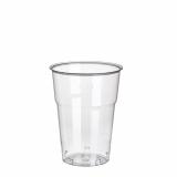 20 x  50 Trinkbecher, PS 0,2 l Ø 7,3 cm · 9,5 cm glasklar