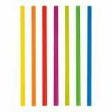 8 x  500 Shake-Halme Ø 8 mm · 25 cm farbig sortiert