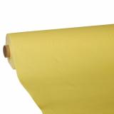 4 x  Tischdecke, Tissue ROYAL Collection 25 m x 1,18 m gelb