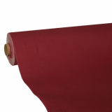 4 x  Tischdecke, Tissue ROYAL Collection 25 m x 1,18 m bordeaux