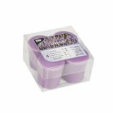 4 x  4 Duft-Minis Ø 45 mm · 52 mm violett - Lavender