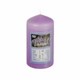 4 x  Duft-Stumpenkerze Ø 60 mm · 110 mm violett - Lavender