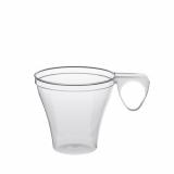 30 x  40 Espressotassen, PS 0,08 l Ø 6 cm · 5,7 cm glasklar