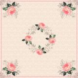 15 x  Mitteldecke, stoffähnlich, Airlaid 80 cm x 80 cm Charming Rose