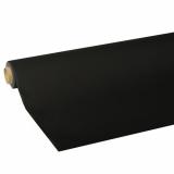 10 x  Tischdecke, Tissue ROYAL Collection 5 m x 1,18 m schwarz