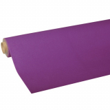 10 x  Tischdecke, Tissue ROYAL Collection 5 m x 1,18 m lila