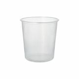 10 x  100 Verpackungsbecher, PP rund 500 ml Ø 10,1 cm · 10,3 cm transparent