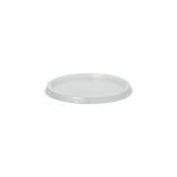 10 x  100 Deckel für Verpackungsbecher, PP rund Ø 10,1 cm · 0,8 cm transparent