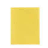 10 x  Mitteldecke, stoffähnlich, Vlies soft selection 80 cm x 80 cm gelb