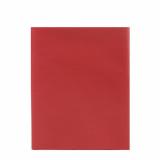 10 x  Mitteldecke, stoffähnlich, Vlies soft selection 80 cm x 80 cm rot