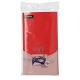 10 x  Tischdecke, stoffähnlich, Vlies soft selection 120 cm x 180 cm rot
