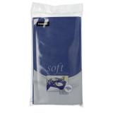 10 x  Tischdecke, stoffähnlich, Vlies soft selection 120 cm x 180 cm dunkelblau