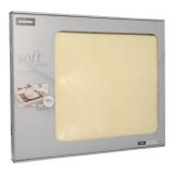 6 x  100 Tischsets, stoffähnlich, Vlies soft selection 30 cm x 40 cm creme