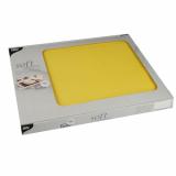6 x  100 Tischsets, stoffähnlich, Vlies soft selection 30 cm x 40 cm gelb