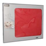 6 x  100 Tischsets, stoffähnlich, Vlies soft selection 30 cm x 40 cm rot