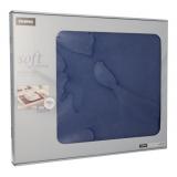 6 x  100 Tischsets, stoffähnlich, Vlies soft selection 30 cm x 40 cm dunkelblau