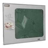 6 x  100 Tischsets, stoffähnlich, Vlies soft selection 30 cm x 40 cm dunkelgrün