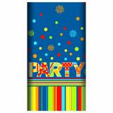 15 x  Tischdecke, Papier 120 cm x 180 cm New Party lackiert
